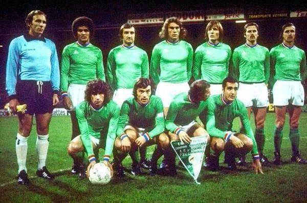 l equipe de st etienne 1976 qui ma fait r 233 v 233 club a 13 ans lestephanoisduvaudreuil skyrock